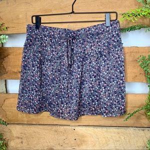 American Eagle 🦅 | Purple Floral Mini Skirt